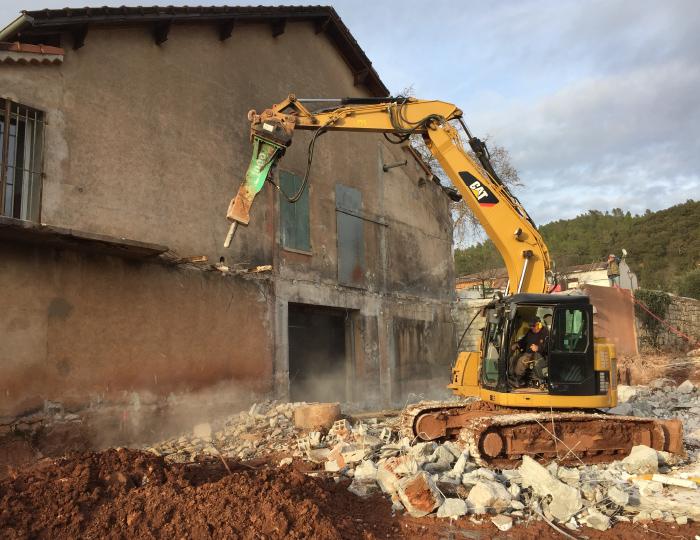 demolition batiment var