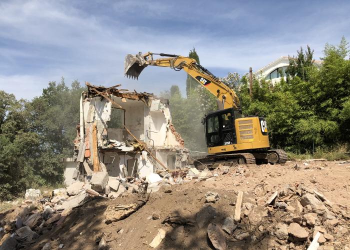 demolition batiment frejus